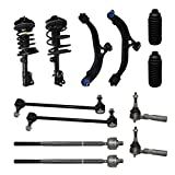 Detroit Axle - New Complete 12pc Suspension Kit -10-Year Warranty Front: Both (2) Complete Front Struts, Both (2) Lower Control Arm & Ball Joints, All (4) Tie Rod, 2 Front Sway Bars, 2 Tie Rod Boots