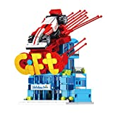 LEBLOCK Building Blocks Toys for Toddlers Mini Rc Car Kit Kids Race Car Toys House Holiday Inn Toy Vehicle Building Bricks Set for Kids and Adults - STEM Education Toys 296 PCS ( Red Rc Car )