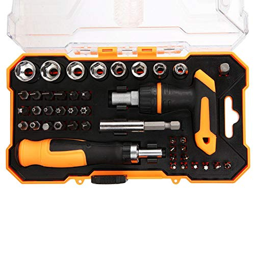 Juego de herramientas para destornilladores, juego de herramientas para destornilladores, mango antideslizante, compacto y ligero para accesorios de mantenimiento
