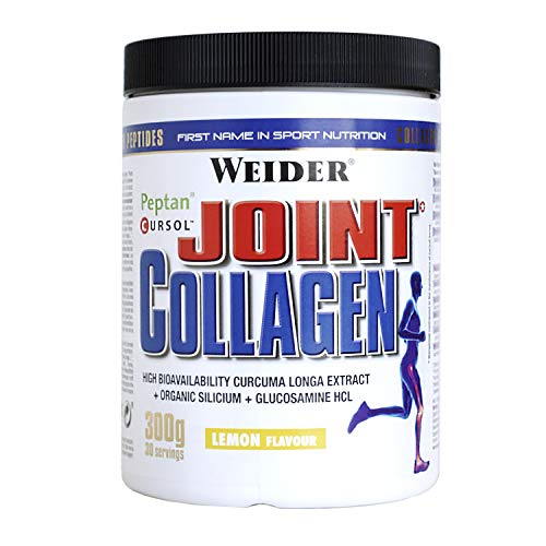 Weider Joint Collagen. Cápsulas con glucosamina, condroitina, MSM, ácido hialurónico y vitamina E, D y C.