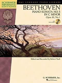 Beethoven: Sonata No. 5 in C Minor, Opus 10, No. 1 (Schirmer Performance Editions)