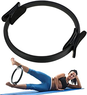 Non-Slip Toning Thighs//Abs//Legs- Portable Yoga Training Pro Impact Pilates Ring Fitness Circle Exercise Resistance Equipment for Weight Loss Body Sculpting Colors Available Comfortable