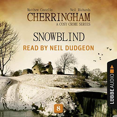Snowblind audiobook cover art