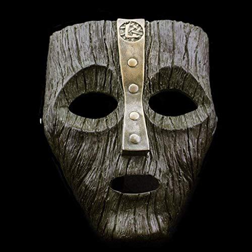 Sweet Cameron Diaz Loki Halloween Harz Masken Jim Carrey Venezianische Maske Der Gott des Unfugs Maskerade Replik Cosplay Kostüm Requisiten,B