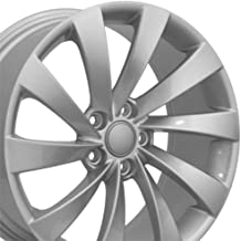 Partsynergy Replacement For Silver Rims Fits 2005-2017 VW Jetta - VW17 Silver 18x8 Aluminum Wheel