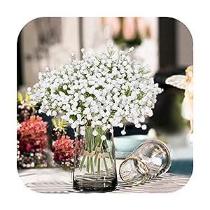 PrettyR Artificial Gypsophila Flower Fake Silk Wedding Party Bouquet Home Decor
