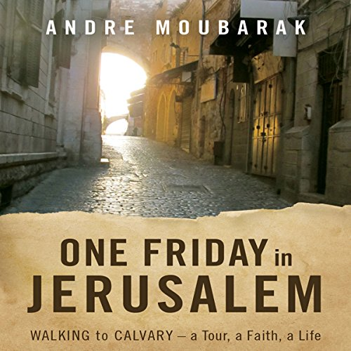 One Friday In Jerusalem audiobook cover art