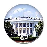アメリカアメリカホワイトハウスワシントン冷蔵庫マグネットホワイトボードマグネットオフィスキッチンデコレーション