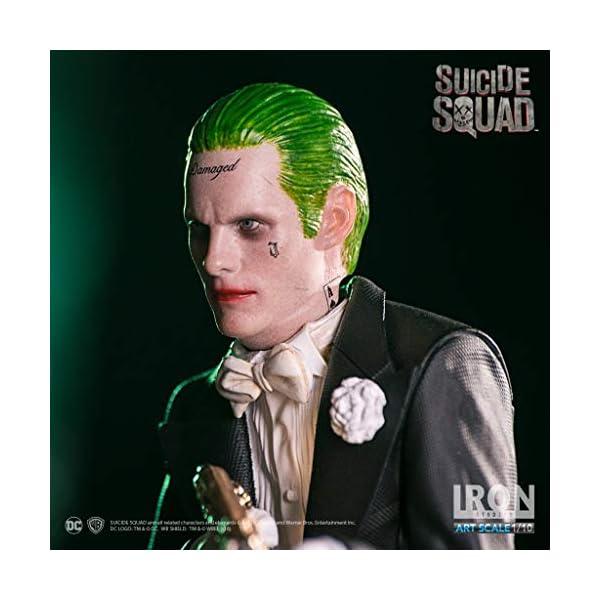 Iron Studios IS353571 Suicide Squad The Joker Figura de Escala 1:10 6