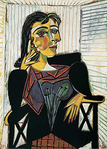 1art1 Pablo Picasso - Portrait of Dora Maar Poster Kunstdruck 70 x 50 cm