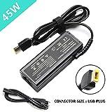 20V 2.25A 45 W USB Remplacement AC Adaptateur pour Lenovo ADLX45NCC2A ADLX45NLC2A...