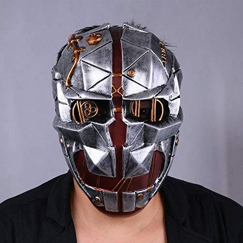 YaPin Dishonored Shame 2 Demütigung 2 Maske Corvo Cosplay Halloween Assassin Maske herum