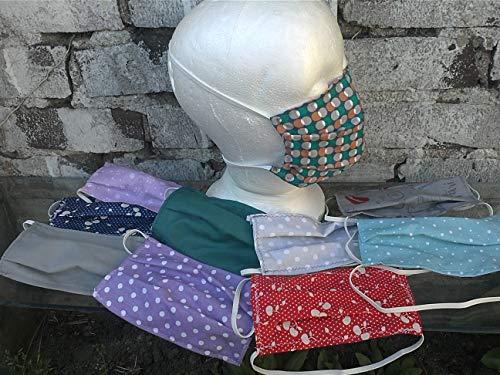 Gesichts-Schutzmaske, Mundbedeckung,Mundmaske-Staubmaske.Wiederverwendbare Gesichtsmaske.Baumwolle Gesichtsmaske