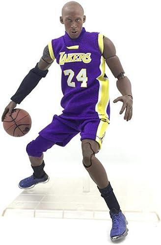 hasta 60% de descuento Anime Anime Anime Basketball Star púrpura Kobe Bryant Modelo Estatua Altura de Personaje 22cm FKYGDQ  moda clasica