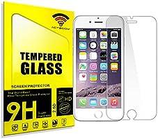 "actecom Protector de Pantalla Cristal Templado para iPhone 6 4.7"" iPhone 6S"