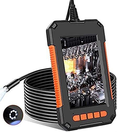 Kettles Videocamera Endoscopio HD 8mm 1080P con Schermo IPS da 4,3 Pollici, 8 luci a LED Regolabili IP67 Impermeabili per Auto fognatura ispezione Strumento di Pulizia
