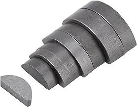 Metalen Woodruff Keys Halfcirkel Assortiment Box Kit Set Verschillende Maten 80 stks Industriële Componenten Houtbewerking