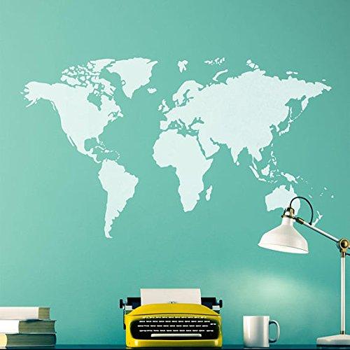 craftstar diseño de mapa del mundo–bricolaje decoración pared arte plantilla
