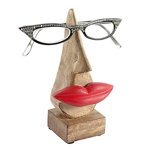 Transomnia Luscious Lips Glasses Holder - (Glasses Not Included) by Transomnia