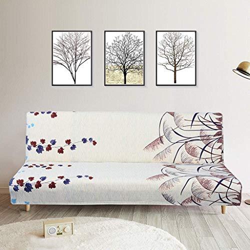 BAOFI Home Living Divano Pieghevole, Tratto Impermeabile No braccioli del sofà Protettivo Lavabile, Ideale per Sale Adulti Bambini Cane polivalente,F
