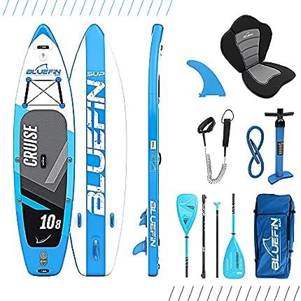 Bluefin Sup Cruise 10'8 Paquete de Tabla Paddle Surf