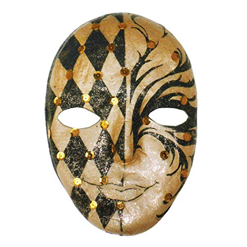 "Chenille Kraft CK-4190 Paper Mache Mask, 0.5"" Height, 5.5"" Wide, 8"" Length"