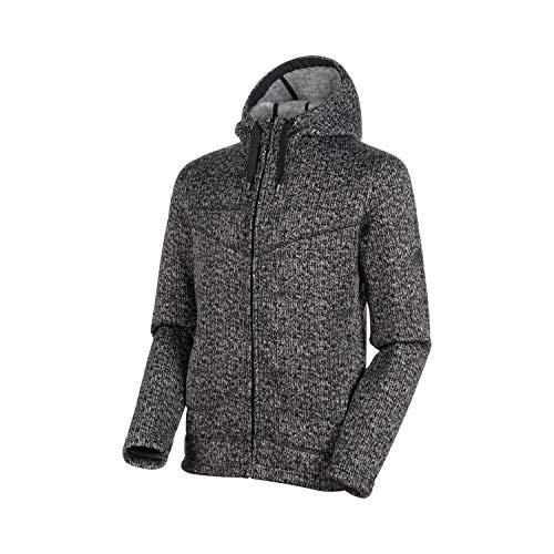 Mammut Herren Chamuera Hooded Midlayer Jacke, schwarz, XL