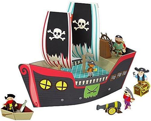 ventas de salida Krooom - Puzzle 3D - Bateau Bateau Bateau de pirates - K-307 by KROOOM  los últimos modelos