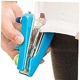 Máquina De Coser Handheld De La Costura Herramienta Inalámbrica Mini Hand Held Telas De Costura De La Máquina Color Azar