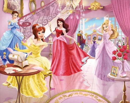 Walltastic WT4064 Fairy Princess Prinzessin Wandbild Designer Fototapete
