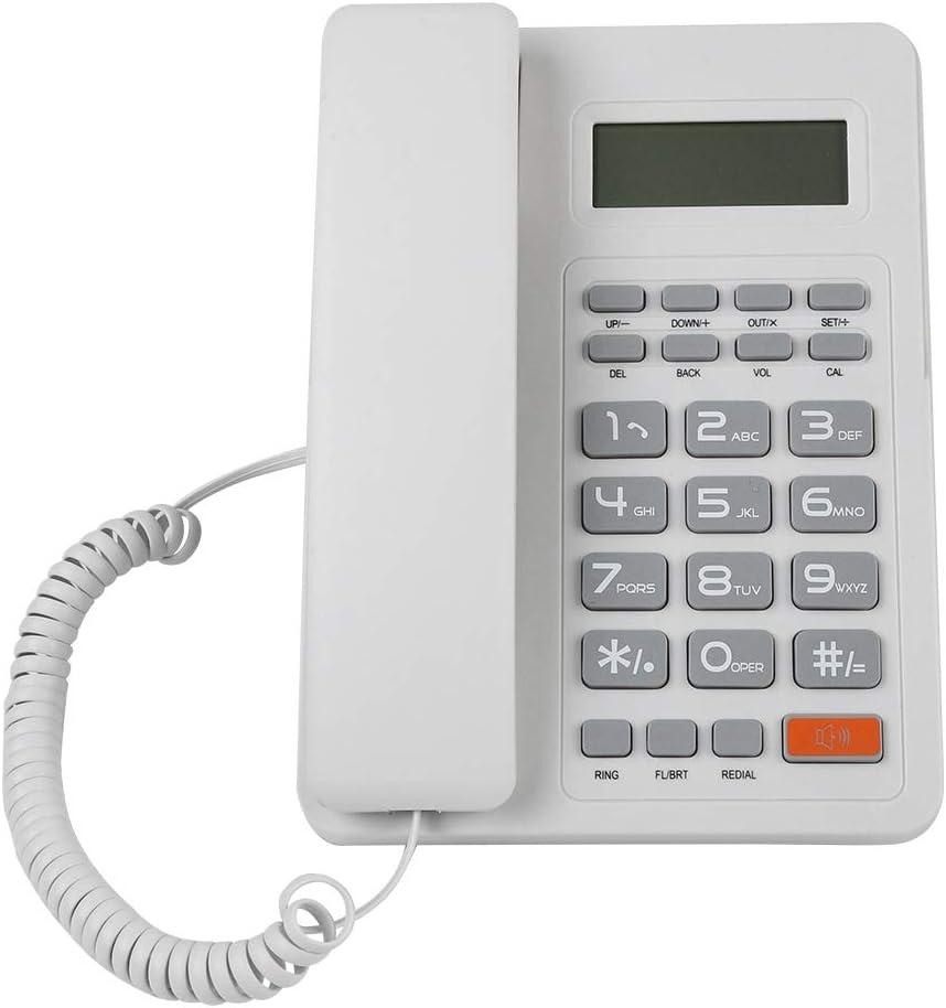 Landline Telephone DTMF FSK Dual Desktop Corded wi Cheap sale Phone System Super-cheap