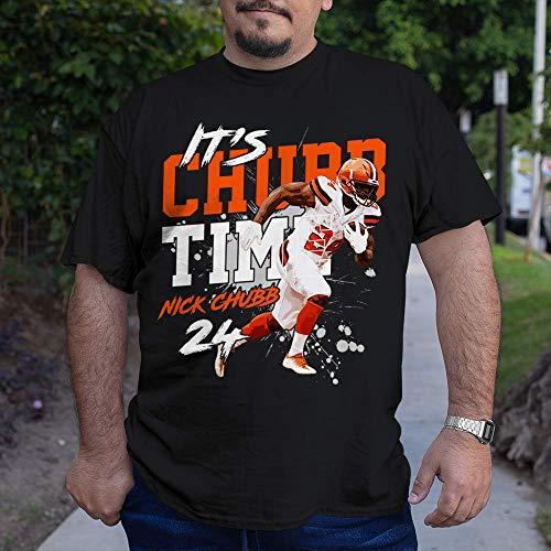 It's Chubb-24 Time Cleveland-Football Jersey Nick-RB Running Back Customized Handmade Unisex T-Shirt | Long Sleeve T-Shirt | Hoodie | Sweater