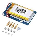 リチウムバッテリー電源拡張ボード用のスイッチとラズベリーパイ 3