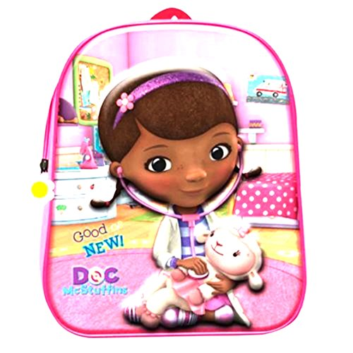 ZAINO ASILO 3D DOC MC STUFFINS