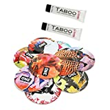 Taboo Gently Numbing Desensitizing Cream 0.5 Oz (Set of 2) & 1 Pack of 10 ONE Condoms Variety Pack