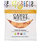 Wilton Candy Melts Flavored 8oz-Orange Cream
