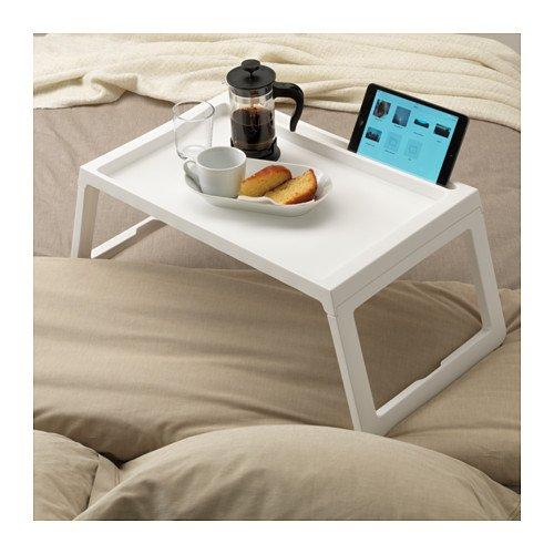 Plateau pour petit déjeuner au lit Blanc
