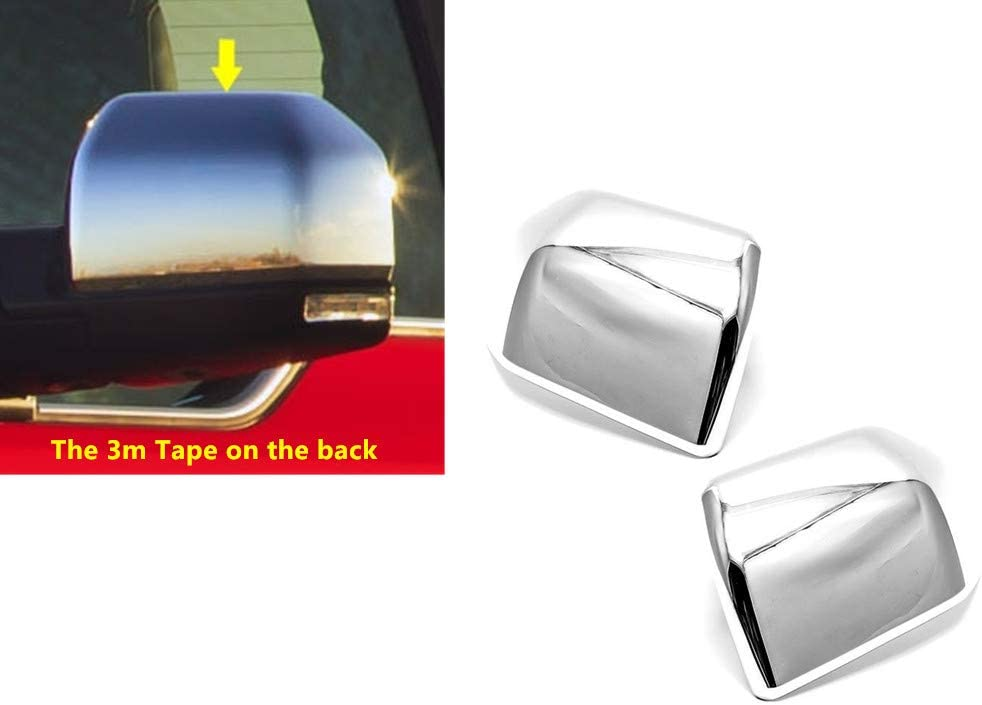 eLoveQ Chrome Top Max 40% OFF Half Side Ranking TOP9 Cover Compatible Mirror Covers with