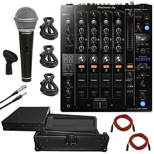 Read About Pioneer DJM-750MK2 4-Channel Pro DJ Mixer w/Club DNA + Black Travel Flight Case