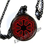 Star Wars inspired SITH - pendant necklace - the dark side - HM