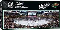 "MasterPieces NHL Minnesota Wild Stadium Panoramic Jigsaw Puzzle, 1000 Pieces, 13"" x 39"""