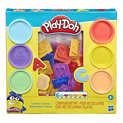 Product Image of the Play-Doh Fundamentals Letters with 26 Letter Stamper Tools and 6 Colors of...