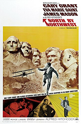 North by Northwest (1959) Movie Poster 24'x36'