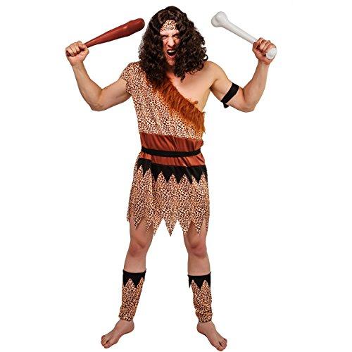 flatwhite Adult Wild Caveman Costumes