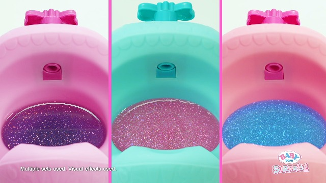 Baby Born Surprise Magic Potty Surprise Doll Blue Eyes with 30 + Magical Surprises | Doll Pees Glitter & Poops Surprise…