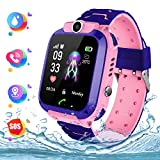 Kids Smart Watch Phone per Bambini IP67 Impermeabile, Orologio Smart Phone LBS Anti-perso con Chat...