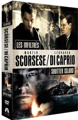 Shutter island + Les infiltrés - coffret 2 DVD