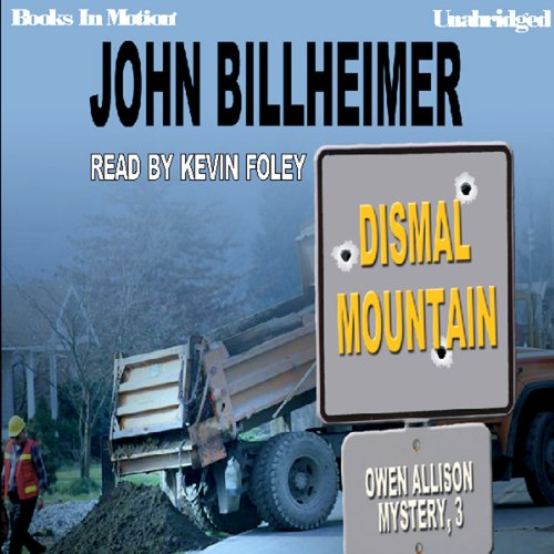 Dismal Mountain audiobook cover art