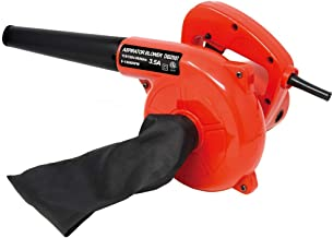 Toolman Corded Electric Leaf Sweeper Vacuum Blower 3.5A for Heavy Duty DB2507