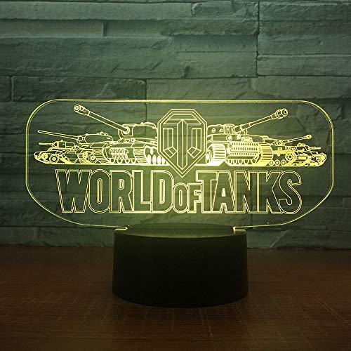 Kesselwagen Nachtlicht elektronische Rutsche Licht Farbwechsel Touch Tischlampe für Kindergeburtstagsgeschenk Dekoration
